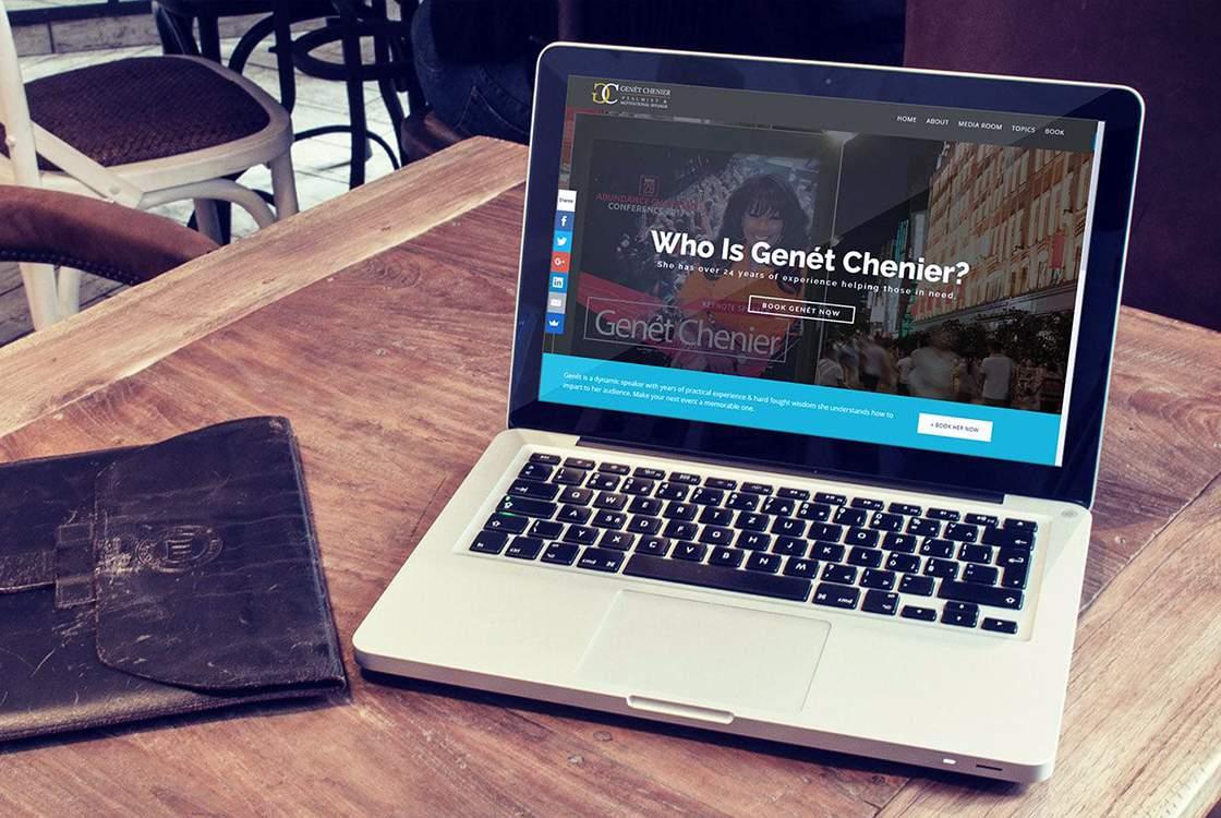 Genét Chenier Website
